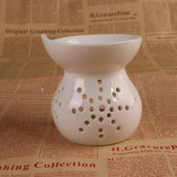 聚合陶瓷 创意家居装饰摆件 陶瓷工艺品 镂空香薰灯炉 外贸批发