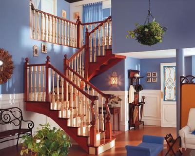复式楼梯集锦 凸显潮流品味的新天地