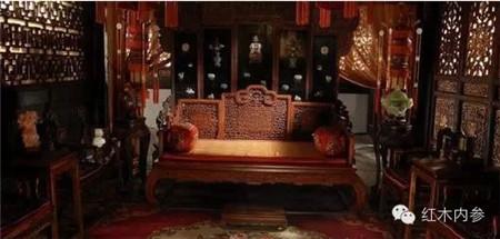 """红木古典家具成为影视明星背后的""""绿叶"""""""