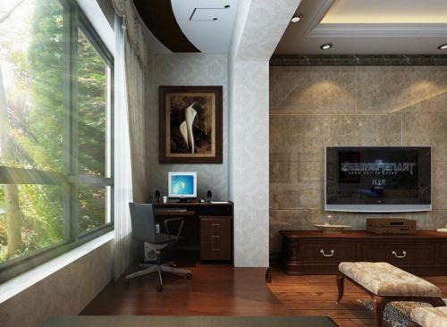 若大门与客厅之间无隔断,外气直入住宅,屋内阳气逸散,不宜居.