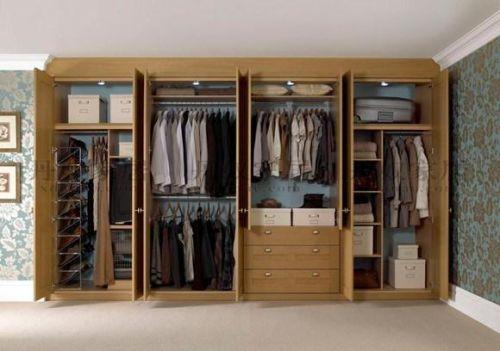 家庭衣柜结构图