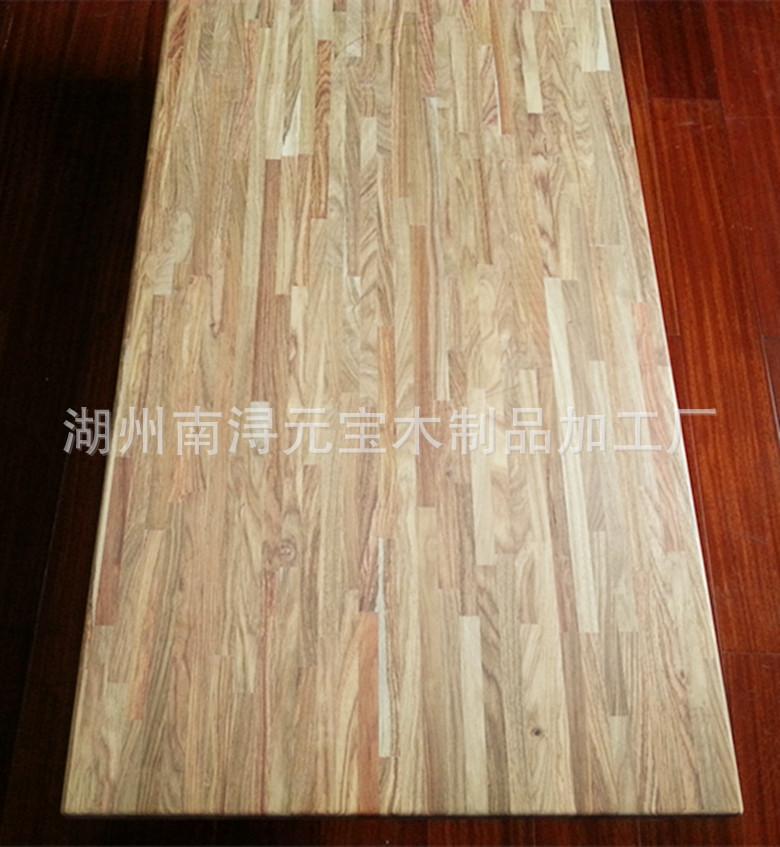 刺猬紫檀木暗接拼板,红木家具首选木材