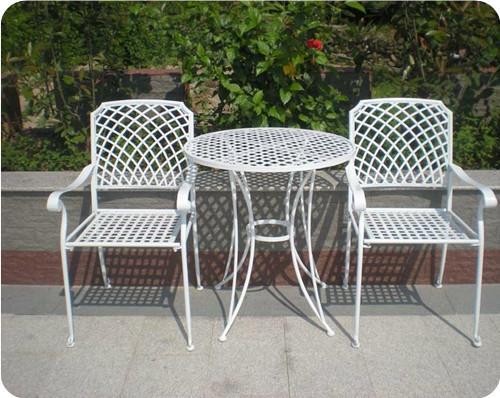 欧式阳台休闲桌椅