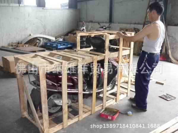 纳雄洋 摩托车木箱 木质包装箱 电动车木架 木箱木托盘