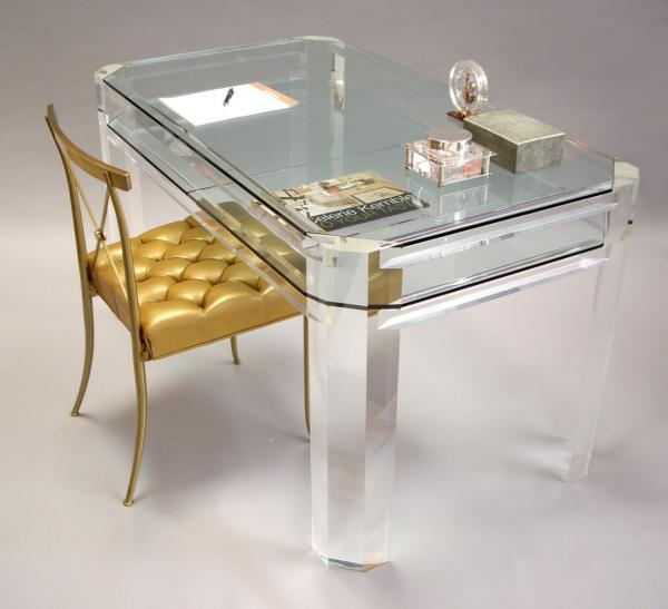 厂家加工定制欧式亚克力桌椅