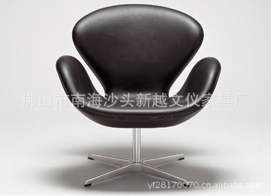 精品展示定型海绵天鹅椅 设计师家具 个性家具设计 商场休闲椅