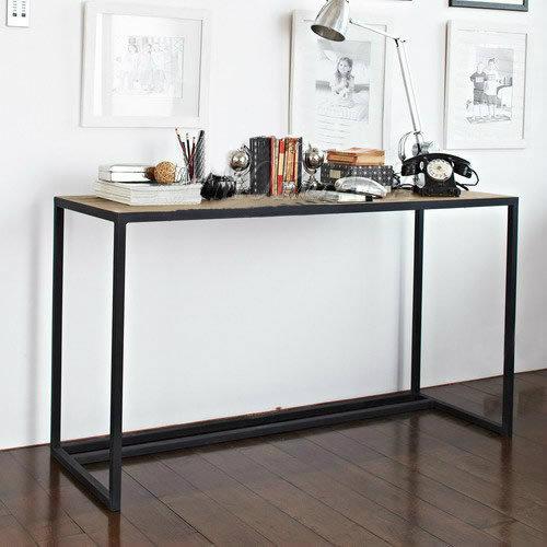 欧式边桌仿古工作桌实木玄关桌铁艺风格其它桌类r4书